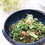 栄養たっぷり♡ブロッコリーと納豆のごまおかかマヨサラダ