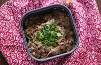 牛肉と舞茸の中華おこわ風炊き込みご飯