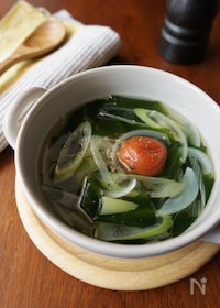 『梅わかめスープ』