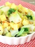 スイートチリドレッシングde白菜とさつま芋のサラダ