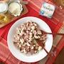 ホームパーティー料理にもブルサンは大活躍!紅白をモチーフにした新春らしいサラダはいかが?