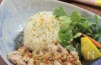 炊飯器で作るカオマンガイ§お手軽簡単に大人気のタイ料理