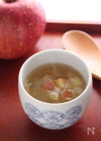 『りんごと生姜のポカポカ葛湯』