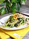 菜の花と豚肉のガーリック炒め
