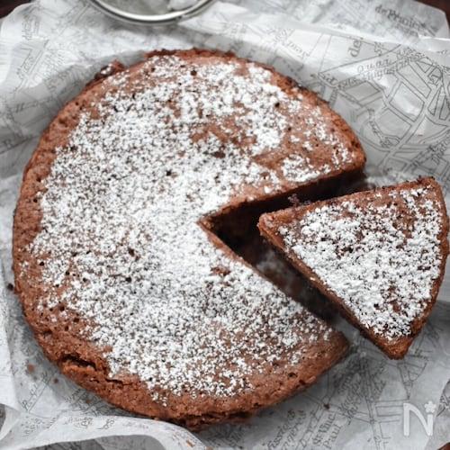 卵不要♡レンジで3分♡もっちり旨し♡チョコレートケーキ♡