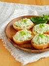 枝豆とクリームチーズのブルスケッタ。夏のお手軽オードブル!