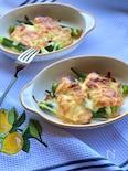 ほっこり和食♡鮭とオクラの味噌マヨチーズ焼き