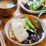 優しい味♪お店みたいな『揚げだし豆腐と素揚げ野菜』