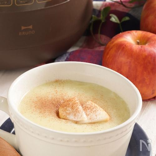 ほっこり。さつまいもとりんごのデザートスープ