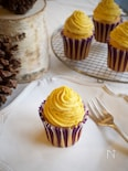 秋の味覚♡かぼちゃのモンブランカップケーキ
