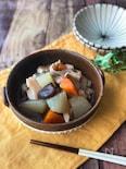 『冷蔵庫にある食材』×『めんつゆ』で簡単五目煮