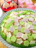 ひな祭り*子供が喜ぶ♡お花畑の洋風トマトちらし寿司