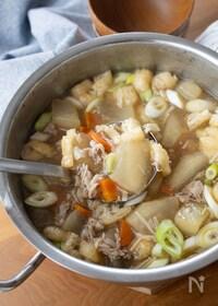 『冬瓜と豚肉のとろとろスープ【野菜たっぷり!具だくさん♪】』