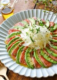 『簡単、安い、おいしい!!【サーモンカルパッチョ】』