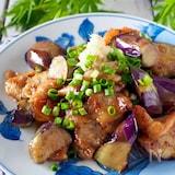 とろ〜り茄子と豚肉のさっぱりポン酢炒め【ご飯おかわり!】
