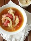 チキンとトマトのチーズスープ
