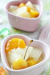 【簡単おやつ】調理時間5分で作れる!豆乳の杏仁豆腐