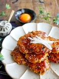 甘辛照りたれがやみつき♪ふんわりやわらかな❤鶏つくね