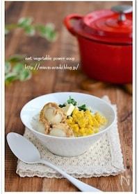 『帆立と切り干し大根食べる味噌バタースープ鍋 』