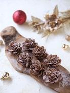 市販のお菓子で簡単!!まつぼっくりケーキ【クリスマス】