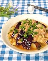 レンジde簡単♪無限に食べれる中華風やみつきナス