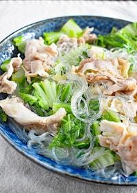 『【簡単】白菜と豚肉の重ね蒸し』