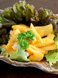 蓮根のコチュマヨ炒め