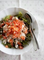イタリアンなトマしゃぶサラダ
