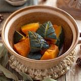 かぼちゃの煮物。ほっくり甘い♪副菜、子どものおやつに。