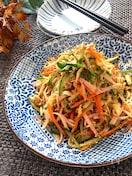 ヘルシーでモリモリ食べられる♡中華風切り干し大根のサラダ
