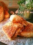 レンジ発酵♪焼きはフライパン♪チーズカレーパン♪