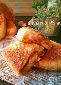 『レンジ発酵♪焼きはフライパン♪チーズカレーパン♪』