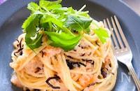 塩昆布の旨味広がる♪茹でて和えるだけ簡単たらこスパゲティ