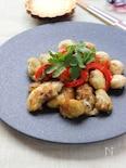 麺つゆで簡単!牡蠣のガーリックソテー