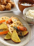 根菜のフライパングリル