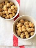 揚げ大豆のきなこ和え。
