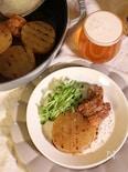 大根と豚バラ肉の白ワイン煮