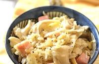 【舞茸とベーコンのチーズとろける炊き込みご飯】やみつき飯!