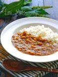 【らくレピ】包丁不要レンジで簡単!大豆とコーンのチキンカレー