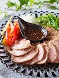 驚くほど柔らかい煮豚の黒酢風味#炊飯器でスイッチポン!#簡単