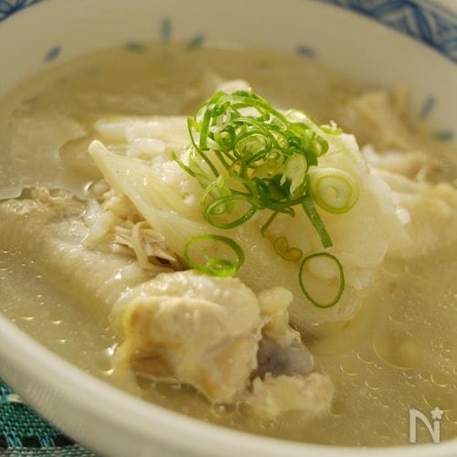 活力鍋*炊飯器で1発☆参鶏湯〜サムゲタン☆