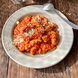トマトジュースで簡単!チキンリゾット