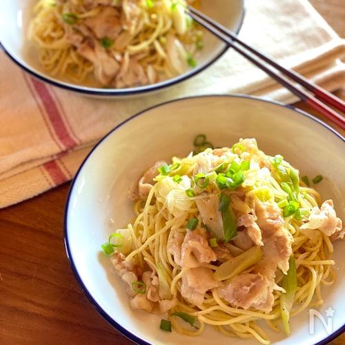 塩 焼きそば レシピ 簡単