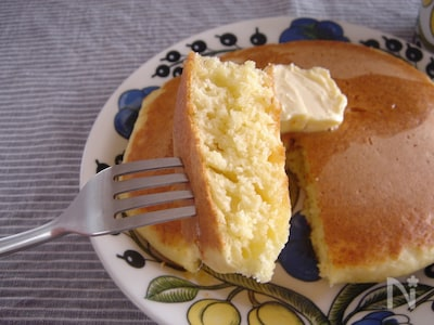 なし 牛乳 ホット ケーキ