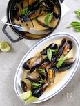 ムール貝のココナッツカレー煮