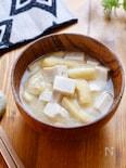 【1週間献立用】豆腐と油揚げのお味噌汁
