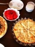 お気に入り♡豆腐入り生地でモチモチピザ☆