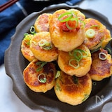 カリッともっちり止まらない美味しさ‼︎ 明太子チーズいも餅