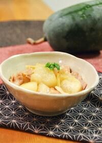 『とろける!冬瓜と豚バラの煮物。やさしい和風味のおかず。』