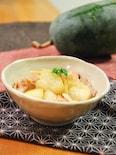 とろける!冬瓜と豚バラの煮物。やさしい和風味のおかず。